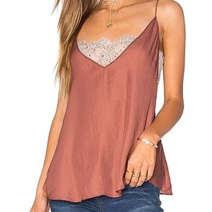 Free People • Plunging Deep V Bandeau Cami M